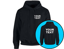 Your Text Personalised Workwear Unisex Hoodie (8 Colours)