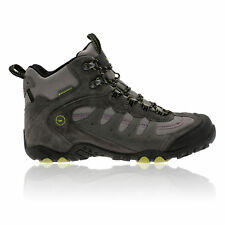 Hi-Tec Penrith Mid Mens Grey Waterpoof Trail Walking Hiking Boots Shoes New