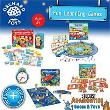 ORCHARD TOYS Educational Early Learning Games Puzzle Jigsaw Count Numbers Time