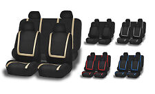 Car Seat Covers For Auto 9 Piece Unique Flat Cloth Full Set Seat Covers