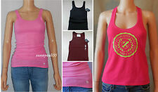 new ABERCROMBIE KIDS Girls BRITTANY Tank Shirt size S L NWT blue pink burgundy