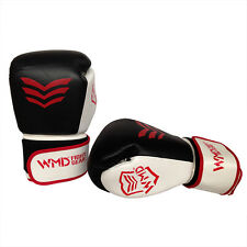 WMD COWHIDE LEATHER BOXING GLOVES SPARRING PUNCHING MMA BAG TRAINING