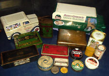 VINTAGE TINS   COLLECTABLE, VINTAGE RETRO   click on the site to chose and order