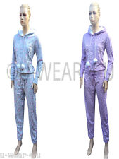 LADIES GORGEOUS MARKS AND SPENCER HOODED ONESIE DRAWSTRINGS AND POM POMS M&S