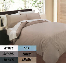 Pintuck Quilt Cover Set Shark Polyester Cotton New Phase 2 Bedding Online