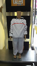 Kids Lacoste Tracksuit White. 8-10 Years. RRP £105, On sale for £60!