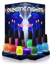 China Glaze Nail Polish Electric Nights Collection: Summer 2015