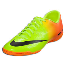 NIKE MERCURIAL VICTORY IV IC INDOOR SOCCER SHOES FOOTBALL Volt/Bright Citrus/Bla