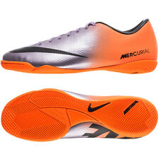 NIKE MERCURIAL VICTORY IV IC INDOOR SOCCER SHOES FOOTBALL Metallic Machine Purpl