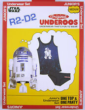 Adult STAR WARS R2-D2 Underoos Womens Underwear Tank Top Sleep Set R2D2 Pajamas