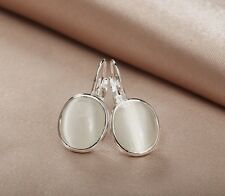 Amazing Gemstone Earrings Clip For Women Gift 5 Colors Choice E003