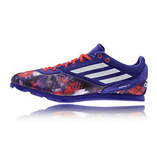 Adidas Arriba 4 Mens Blue Running Track Studs Sports Spikes Shoes Trainers
