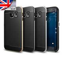 Armour Hard Frame Bumper Soft Rubber Case Cover Skin for Samsung Galaxy S6 Edge