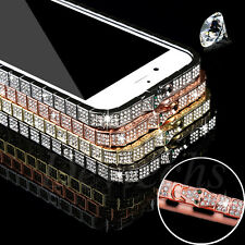 for iPhone 5 5S Luxury Crystal Rhinestone Diamond Bling Metal Bumper Case Cover