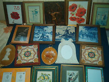 FRAMED WALL HANGINGS ~ click HERE to browse or order