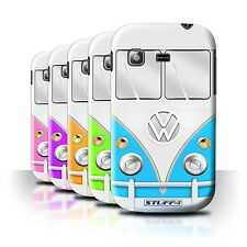 STUFF4 Back Case/Cover/Skin for Samsung Galaxy Pocket/S5300/VW Camper Van