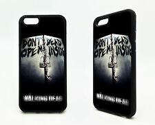 The Walking Dead Don't Open Zombie Silicone Rubber Case Cover iPhone