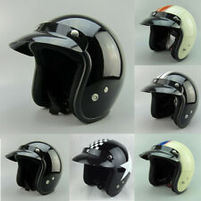 Open Face Motorcycle Helmet Shell Vintage Helmet Scooter Helmets New In Stock