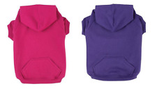 Dog LARGE Breed Fleece Hoodie 4 Plain Colours 3XL 4XL- Pet Warm  Jumper Sweater
