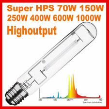 Super HPS 1000W 600W 400W 250W Watt High Pressure Sodium Lamp Bulb Grow Light