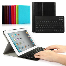 Leather Case Cover Stand With Bluetooth Keyboard For iPad Mini ipad mini2 3
