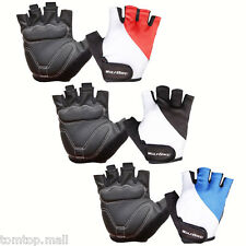 WOLFBIKE GEL MTB Cycling Bike Bicycle Silicone Breathable Half Finger Gloves