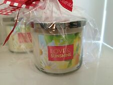 Bath & Body Works 3 Wick Large Candles BBW Full Size Home Decor 14.3oz *NEW*