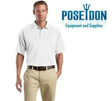 NEW Men's Cornerstone Select Snag-Proof Tactical Performance Polo Shirt - WHITE