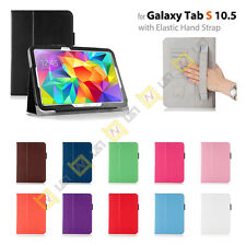 For Samsung Galaxy Tab S 10.5 SM-T800 Tablet PU Leather Skin Stand Case Cover
