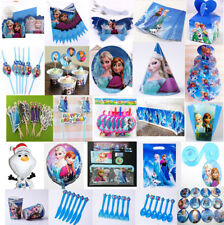 Disney FROZEN Birthday Party Supply Decoration Tableware Napkins+Gift Bag+Banner