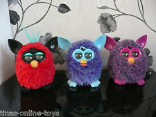 HASBRO OFFICIAL FURBY RED BLACK FUZZY BLUE PURPLE INTERACTIVE PET TOY FURBIE