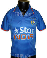 India Team Cricket Jersey 2015 Indian shirt IPL ODI T20