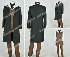 Who is Doctor Cosplay The 8th Eighth Dr Costume Coat Vest Pants Shirt Whole Set