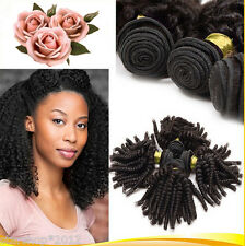 Hot Mongolian Afro Kinky curly Human Hair Extension 1 bundle/100g Virgin Wefts