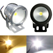 10W 12V LED IP68 Underwater Spot Light 800-900LM Light Aquarium Pool Cool Warm