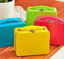 Sweet Candy Jewelry Iron Storage Trinket Tin Box Cute Case organizer container