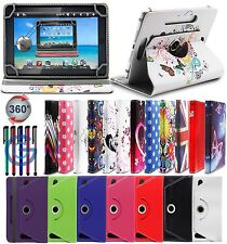 "360 ° Universale in Pelle Stand Custodia Cover per Vari 10 ""SAMSUNG GALAXY TABLET"