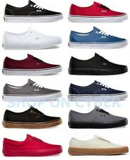 VANS AUTHENTIC CLASSIC ALL COLORS ALL SIZES