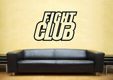 FIGHT CLUB FILM LOGO Muro ARTE Adesivo