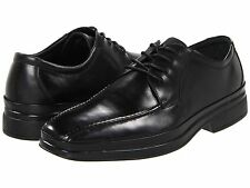 Kenneth Cole Mens Jay Walk Black Casual Lace-up Formal Oxfords Dress Shoes