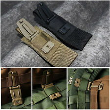 Brand New 5Pcs 26mm Molle Strap EDC Backpack Bag Webbing Connecting Buckle Clip