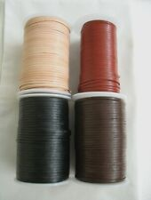5metres of FLAT LEATHER CORD 3mm