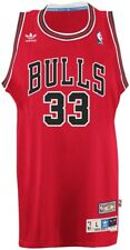 Scottie Pippen Chicago Bulls Adidas NBA Throwback Swingman Jersey - Red
