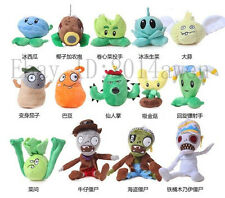 XMAS Gift PLANTS vs ZOMBIES Soft Plush Doll Plush Toy Children Kids 5.1'' 13.7''