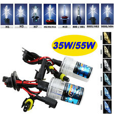 2x 55W/35W XENON HID REPLACEMENT LIGHT BULB LAMP KIT H1 H3 H4 H7 H8 H13 9005 880
