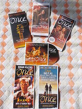 """ONCE"" West End, London Theatre Musical –  FLYER + FREE PROMO CD - LAST FEW!"