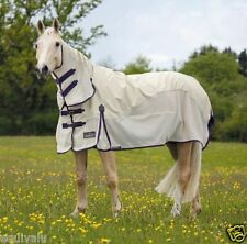 NEW 2015 Shires Performance Maxi Flow Waterproof Fly / Insect Combo Neck Rug