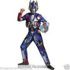 CK424 Deluxe Transformers 4 Optimus Prime Superhero Boys Fancy Dress Up Costume