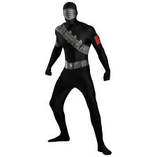 Snake Eyes Costume Bodysuit Adult GI Joe Spandex Skin Suit Zentai Fancy Dress