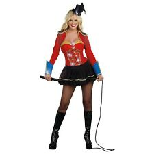 Ringmaster Costume Adult Sexy Halloween Fancy Dress
